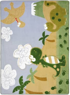 Joy Carpets Just For Kids Dino Fun Rug