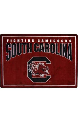 Joy Carpets Collegiate Mascot South Carolina Rug
