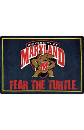 Joy Carpets Collegiate Mascot Maryland Rug
