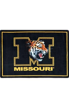 Joy Carpets Collegiate Mascot Missouri Rug