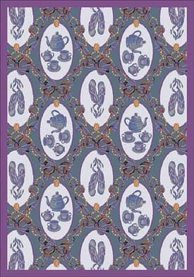 Joy Carpets Family Legacies Ribbons & Bows Rug