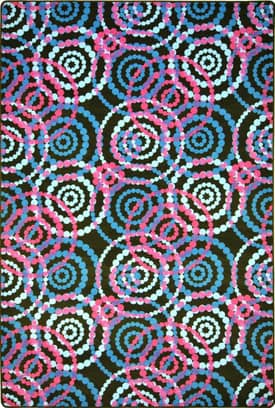 Joy Carpets Fluorescent Dottie Rug