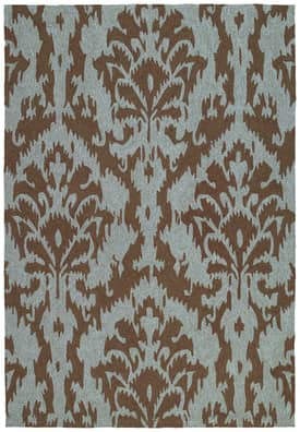 Kaleen Habitat Outdoor Sea Spray Ikat Rug