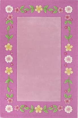 Kas Oriental Kidding Around Floral Fun Rug