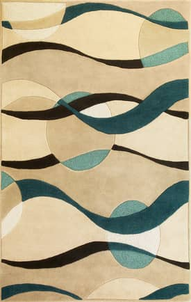 Kas Oriental Eternity Orbit Rug