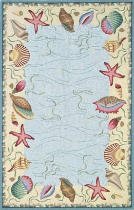 Kas Oriental Colonial Ocean Surprise Rug