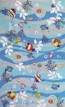 Kas Oriental Sonesta Tropical Fish Rug