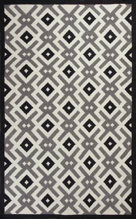 Kas Oriental Solstice White Diamonds Rug