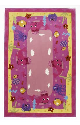 Kas Oriental Safari Ocean Friends Rug