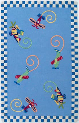 Kas Oriental Kidding Around Flying Fun Rug