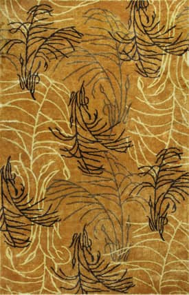 Kas Oriental Chanteuse Fields of Gold Rug