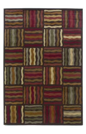Kas Oriental Lifestyles Geometric Waves Rug
