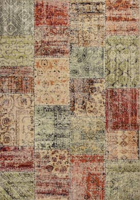 Kas Oriental Reflections Patchwork Rug