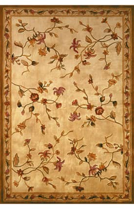 Kas Oriental Ruby Floral Delight Rug