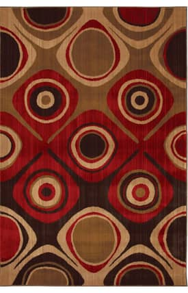 Mohawk Select Kaleidoscope Danger Zone Rug