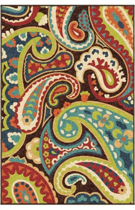 Carolina Weavers Veranda Paisley Outdoor Rug