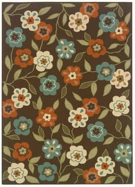 Oriental Weavers Venetian Outdoor Flower Power Rug