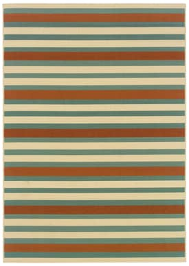 Oriental Weavers Zara Outdoor Stripes Rug