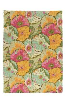 Peking Handicraft, Inc. Kaffe Fassett Lotus Leaf Rug