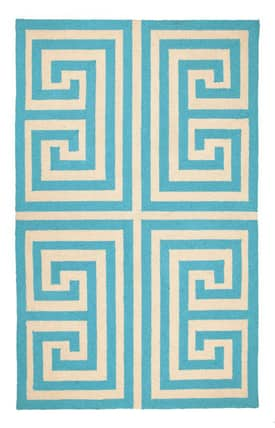 Peking Handicraft, Inc. Trina Turk Greek Key Rug