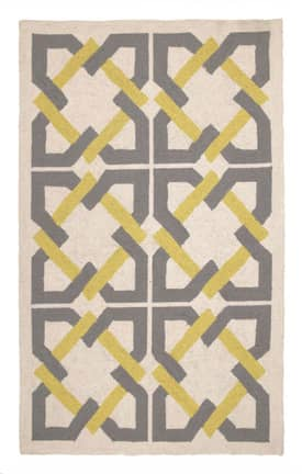 Peking Handicraft, Inc. Trina Turk Geometric Tile Rug
