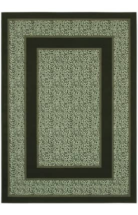 Shaw Woven Expressions Platinum Majestic Leopard Rug