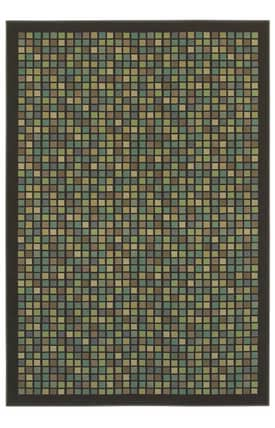 Shaw Woven Expressions Gold City Block Rug