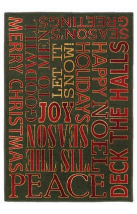 Shaw Holiday Holiday Greetings Rug