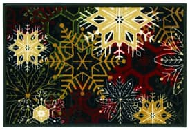 Shaw Holiday Snowflakes Rug