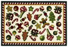 Shaw Holiday Holiday Sweets Rug