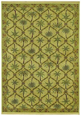 Shaw Tommy Bahama Home Olefin Palm Patches Rug