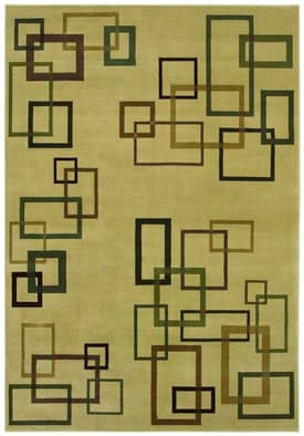 Shaw Inspired Design Cubist Rug
