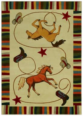 Shaw Kathy Ireland Home Young Attitudes Durango Ranch Rug