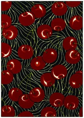 Shaw Kathy Ireland Home Young Attitudes Cherry Pop Rug