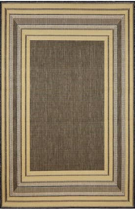 Trans Ocean Terrace Etched Border Rug