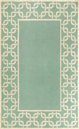 Trans Ocean Spello Chain Border Rug