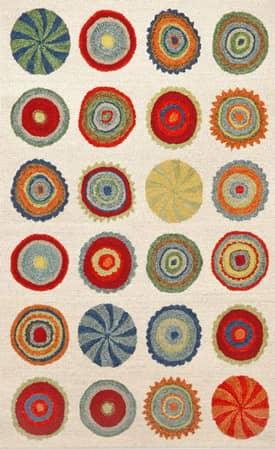 Trans Ocean Siena Small Pop Circles Rug