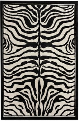 Rugs USA Safari Contemporary Zebra Print Rug