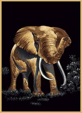 United Weavers Safari Elephant Rug