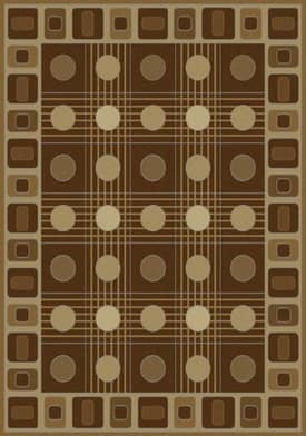 United Weavers China Garden Checkers Rug