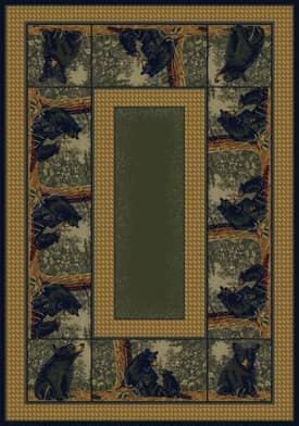 United Weavers Hautman Brothers Bear Family Rug