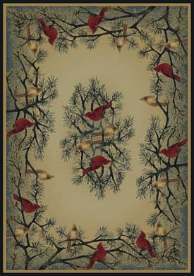 United Weavers Hautman Brothers Cardinal in Pine Rug