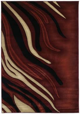 United Weavers Contours Blaze Rug