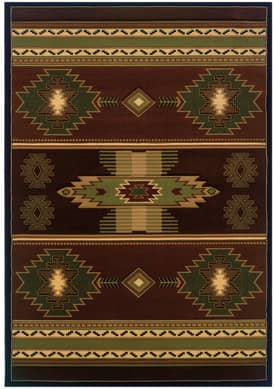 United Weavers Contours Native Canvas Rug