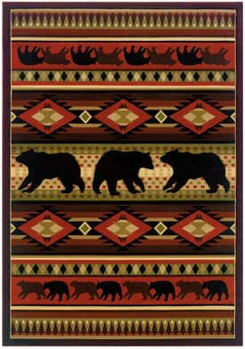 United Weavers Contours Native Bear Rug