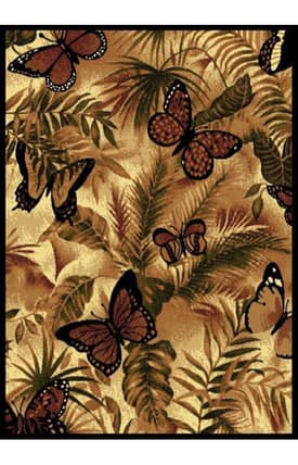 United Weavers Legends Butterfly Jungle Rug