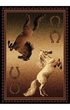 United Weavers Legends Ponies Rug