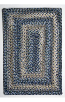 Homespice Decor Ultra Durable Braided Aegean Sea Rug