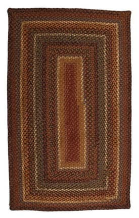 Homespice Decor Cotton Braided Biscotti Rug