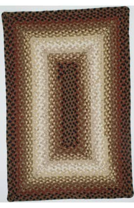 Homespice Decor Cotton Braided Brown Rug